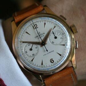 Universal Genève Uni-Compax 124103 vintage watch.