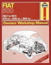 Fiat 500 Owner's Workshop Manual by James Larminie, J. H. Haynes (Paperback, 2012)