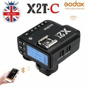 Godox X2T-C E-ttl 2.4g Wireless Flash Trigger 1/8000s Remote Shutter  For Canon