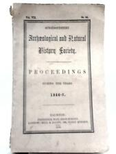 Proceedings 1856-57 Vol. VII (somersetshire Archaeological Society) (id:95271)