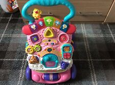 VTECH Baby First Steps Walker excellent interactive lights up and musical no box