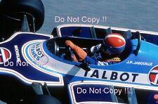 Jean-Pierre Jabouille Ligier JS17 Grand Prix de Monaco 1981 photographie