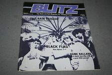 BLITZ THE R´n´ROLL MAG FOR THINKING PEOPLE# 44  -  BLACK FLAG COVER (1982)