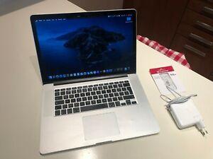 APPLE MACBOOK PRO 15 MID 2012 RETINA A1398 - i7 2,6GHz 8Gb RAM 512Gb SSD - USATO