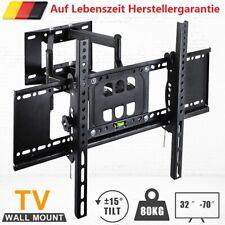 """TV Wandhalterung LCD LED Fernseher schwenkbar neigbar 32 40 43 50 55 65 70"""" Zoll"""