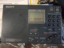 Sony ICF-SW7600G Worldband Reciver Weltempfänger FM SW MW Synchronous Detector