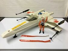 Vintage Star Wars Vintage Kenner X wing fighter luke pilot 100% complete 1978