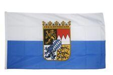 Fahne Flagge Deutschland Bayern Dienstflagge - 90 x 150 cm Hissflagge