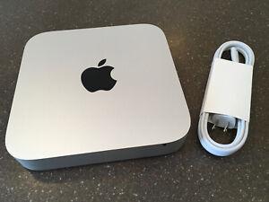 Apple Mac Mini 1.4GHz i5 Late 2014 8GB 500 Hard Drive Running Big Sur W/ Cord