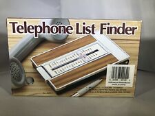 Vintage Telephone List Finder Repertoire No. 329B OPEN BOX Great Condition