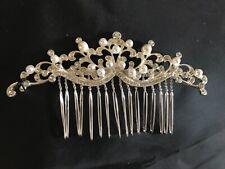 Jon Richard Bridal Isabella pearl and crystal hair comb wedding prom (z3
