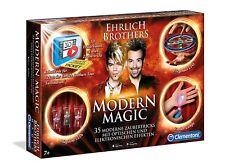 Clementoni 59050 - Modern Magic Tricks Zauberkasten Ehrlich Brothers NEU&OVP
