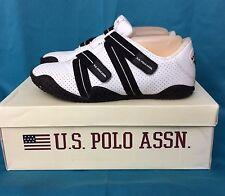 U.S. Polo Assn. Size 8.5 White Phoebe Athleic Shoe Sneaker