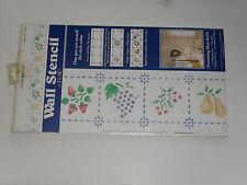 3 pochoirs en plastique, un pour chaque couleur (forme:cuisine du cordon bleu)