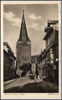 Wernigerode alte Ansichtskarte ~1920/30 Partie am Westerntor ungelaufen