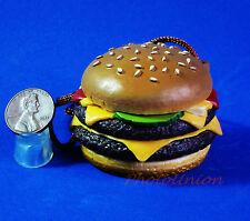 Mcdonald's Figure Statue Display Cartoon Diorama Model Quarter Pounder Burger M3