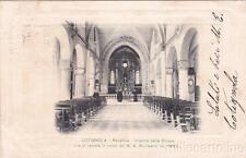 * COTIGNOLA - Interno Chiesa dove si venera il corpo del B.A.Bonfandini 1903