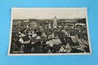 AK - Postkarte - Biberach an der Riss - gelaufen 1938 - Stadt Ansicht von oben