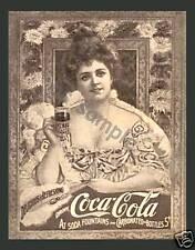 COCA COLA - Vintage Ad - Fridge Magnet