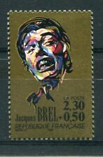 FRANCE 1990 tp 2653 Musique chanteur J. Brel, neuf**
