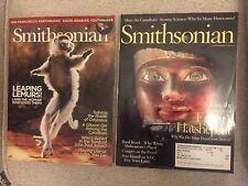 Lot Of 2 Smithsonian Magazines 2006 Apr/Sept Very Good Lemurs, Egypt, Cannibals