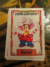 1991 IMPEL FIEVEL GOES WEST COMPLETE 150 CARD SET, AN AMERICAN TAIL~