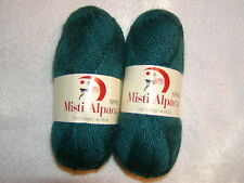 Misti Alpaca Handpaint Chunky #65 Green Orange Red Mix 100/% Baby Alpaca