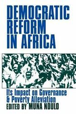 Democratic Reform in Africa: The Impact on Governance and Poverty Alleviation b