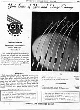 1946 Print Ad of York Archery Bows of Yew and Osage Orange