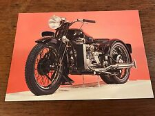Vintage 1932 800cc Brough Superior Mark 2 National Motorcycle Museum Postcard