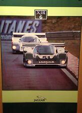 Jaguar XJR6 Factory Original Car Poster Extremely Rare!
