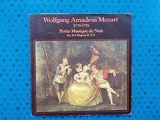 disque vinyle 45 tours PETITE MUSIQUE DE NUIT wolfgang amadeus mozart