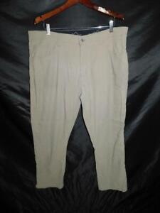 Eddie Bauer 38 x 30 Brown Adventure Trek Pants Mens Hike Camp Phone Pocket 38W
