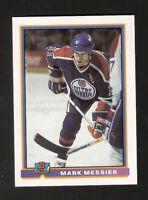 1991 Bowman MARK MESSIER Promo Pre-Production NM-MINT Hockey Edmonton Oilers
