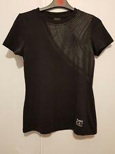 Women's Emporio Armani EA7 Reebok black T-Shirt Size M