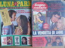 BUSTA anni 70 di 2 Fotoromanzi LUNA PARK 83 + Sogno Mensile 106  [D4]