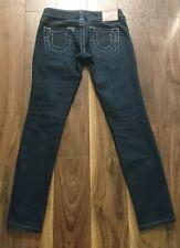 "TRUE RELIGION Rockstar Stella Stretch Skinny Jegging Jeans 24"" Waist"