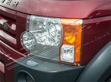 LAND ROVER LR3 / DISCOVERY 3 FRONT CLEAR ACRYLIC HEADLAMP PROTECTOR GUARDS -PAIR