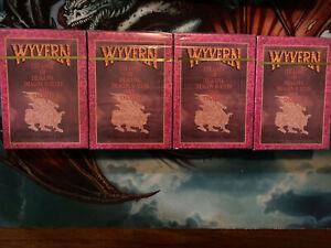 Wyvern Premiere Limited Edition Sealed Starter Decks x4 Potential for Misprints