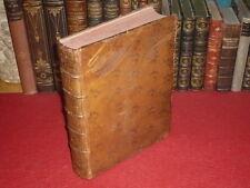 [BIBLIOTHEQUE D'UN GENEALOGISTE] TRAITE DES FIEFS DE DUMOULIN / 1773 H.DE PANSEY