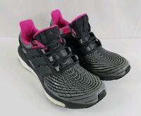 Women's Adidas Energy Boost (grey/utility black/grey) BB3456 Size 9