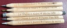 "5 Pencil Set > ""Le Crayon a Andre"" > Amazing US Coin Cleaning tool!!!"