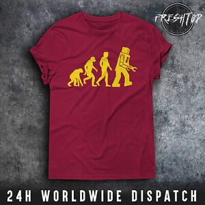 Evolution Robot T Shirt Sheldon Cooper The Big Bang Theory Number 73 Bazinga