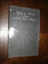 MOIS DES MORTS DE L'OEUVRE DE NOTRE-DAME DU SUFFRAGE - Abbé Sarran 1909
