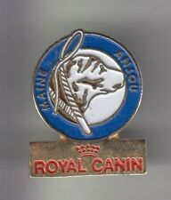 RARE PINS PIN'S .. ANIMAL CHIEN DOG CLUB MAINE ANJOU ROYAL CANIN ~CX