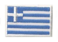 Petit écusson patch patche Grèce drapeau pays 45x30 mm badge thermocollant