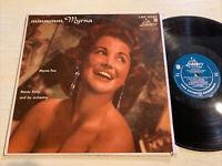 Myrna Fox Mmmmm, Myrna LP Liberty Mono DG Female Jazz Vocal VG!!!!