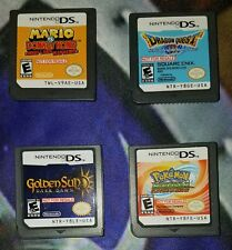 Nintendo DS Demo Not For Resale Lot NFR Golden Sun Mario DK Dragon Quest Pokemon