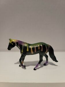 Spooky stablemate mini bogeyman loping quarter horse