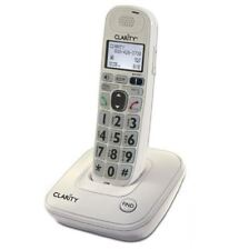 Clarity DECT 6.0 Amplified/Low Vision 40dB Cordless Phone w/ CID Display D704